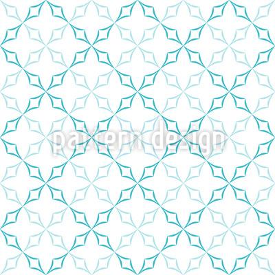 Gebogenes Diamanten Gitter Vektor Design