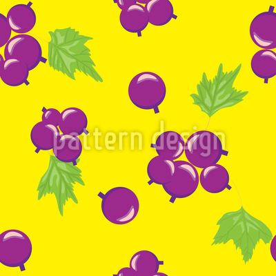 Summer Currant Pattern Design