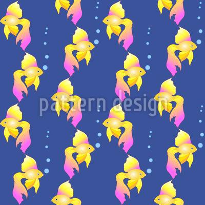 Märchen Goldfisch Designmuster