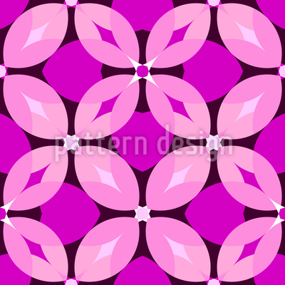 Lady Bloom Vector Pattern