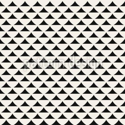 Dreieckige Berge Musterdesign