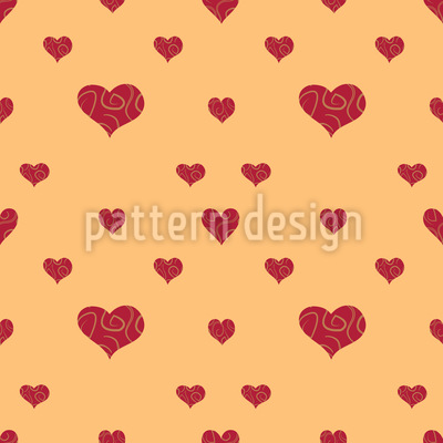 Commercial Hearts Repeating Pattern