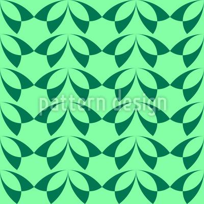 Wand mit Blättern Rapport