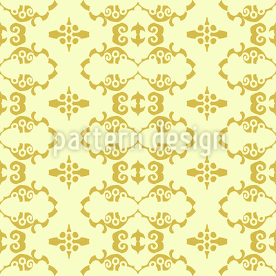 Flattering Bordures Vector Ornament