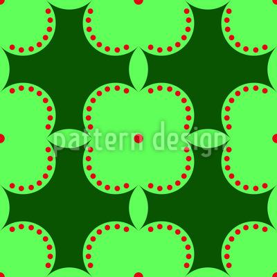 Geheime Schönheit Der Äpfel Vektor Design