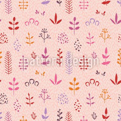 Abstrakte Blätter Musterdesign