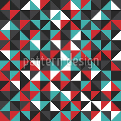 Triangular Mosaic Design Pattern