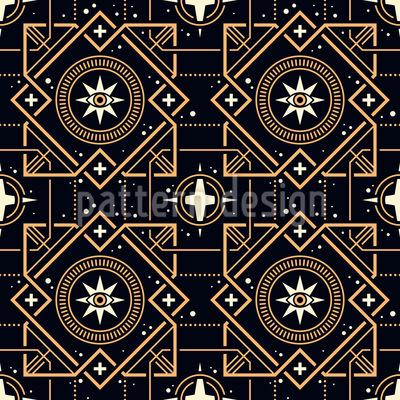 Magische Quadrate Muster Design
