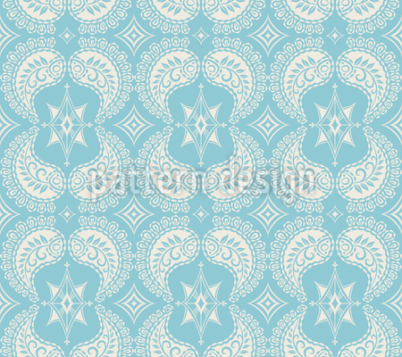 Vintage Paisley Muster Design