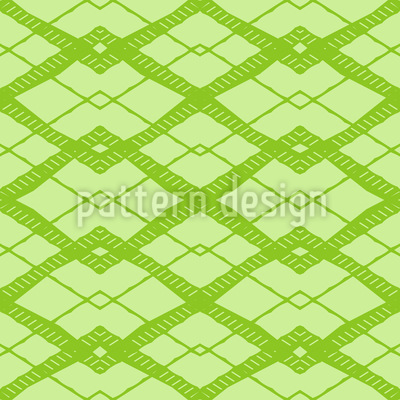 Greeting Sixties Seamless Pattern