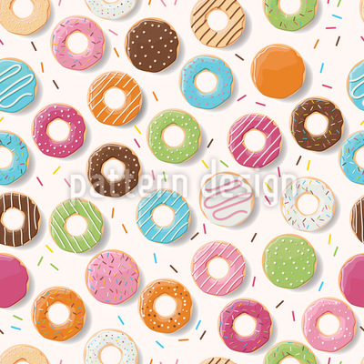 Ich Mag Donuts Rapportmuster