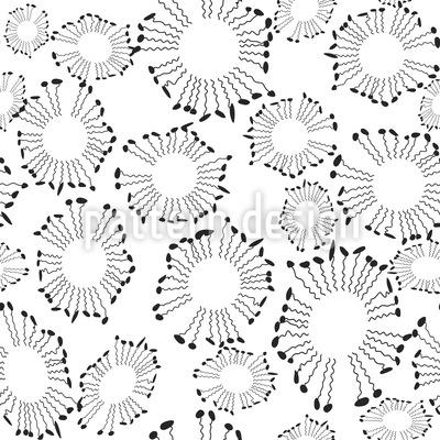 Zitternde Formen Vektor Ornament