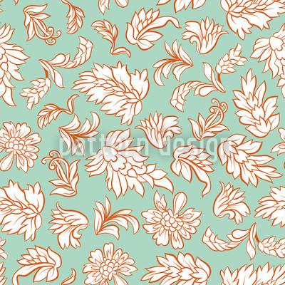 Blattwerk Mint Vektor Design