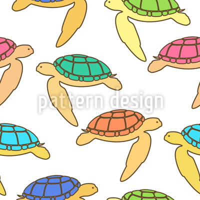Sea Turtles Vector Design