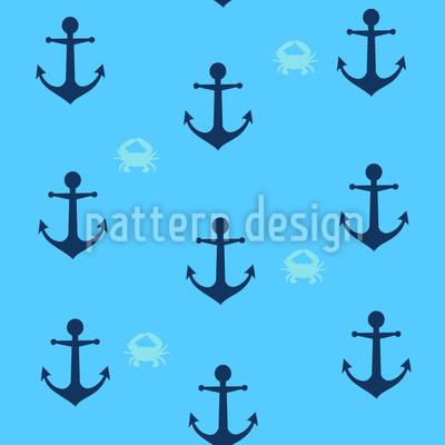 Anchors n Crabs Vector Design