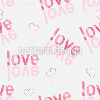 Turn Love Around Repeating Pattern