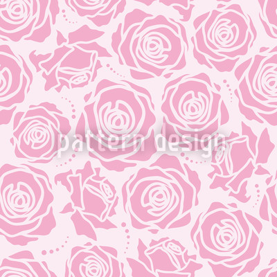 Rose Blossoms Lilac Repeat