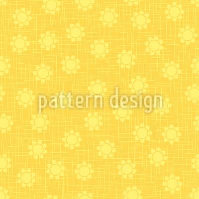 Blume Auf Leintuch Vektor Design