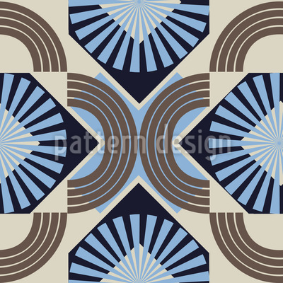 Cafe Tile Vector Pattern