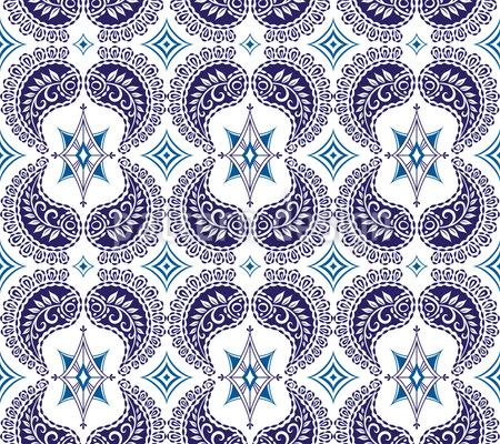 Latin Mosaik Vector Ornament