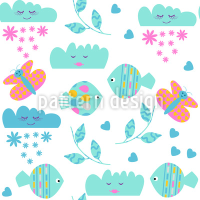 Fantasy Land Pattern Design