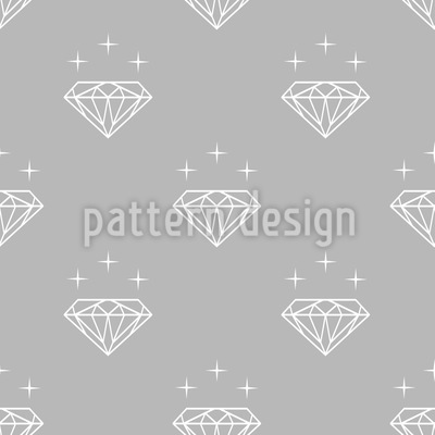 Diamonds Silhouettes Pattern Design