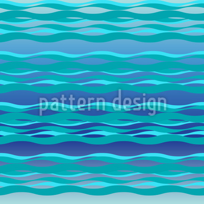 Calm Sea Waves Pattern Design