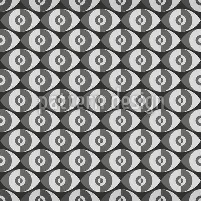 Plaster Eyes Pattern Design