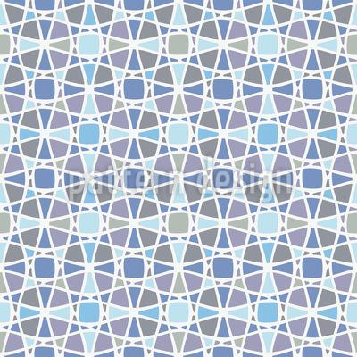Gewebtes Netzwerk Nahtloses Vektor Muster