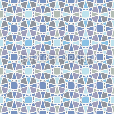 Woven Network Seamless Vector Pattern