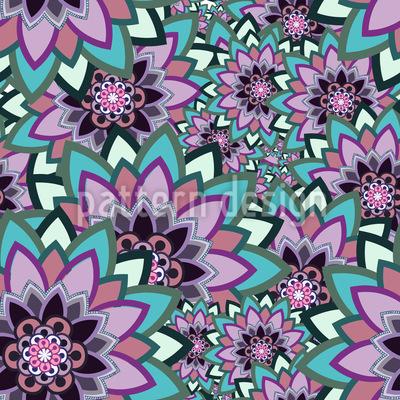 Blumen Leben Musterdesign