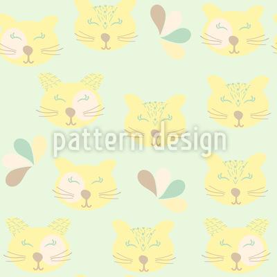Happy Wild Cats Vector Design