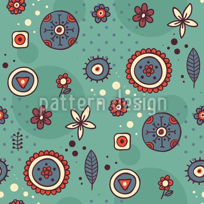Doodle Kringeling Muster Design