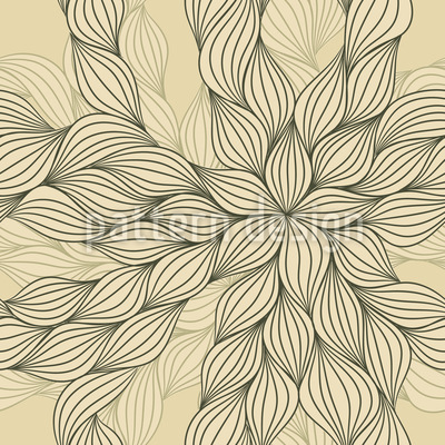 Floral Fantasy Repeating Pattern