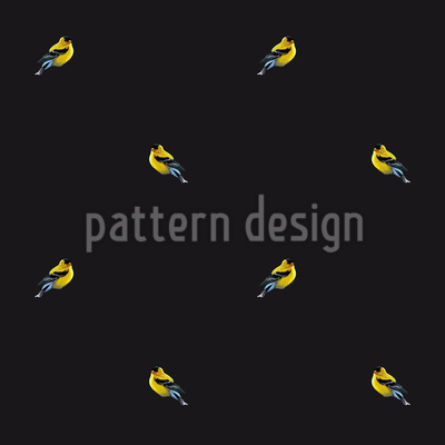 Fly Little Birdies Repeat Pattern