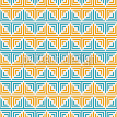 Geometric Zigzag Repeat Pattern