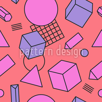 Living Geometry Vector Ornament