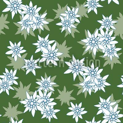 Edelweiss Grün Vektor Design