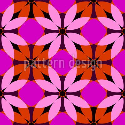Hochblüte Muster Design