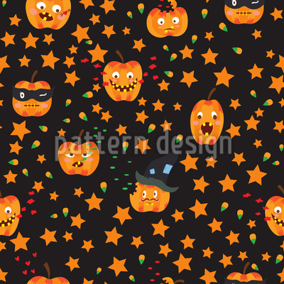 Pumpkin Fun Pattern Design