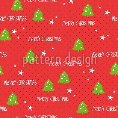 Christmas Wrapping Paper Pattern Design