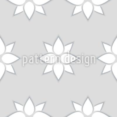 Abstrakte Blumen mit Wirkung Designmuster