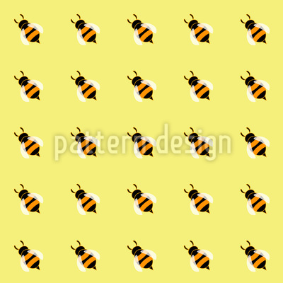 Cute Honey Bees Vector Design