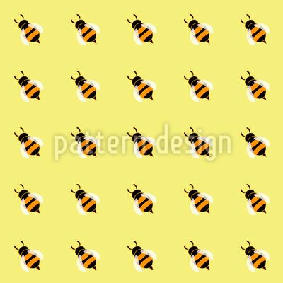 Süße Honigbienen Vektor Design