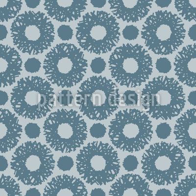 Rings and Dots Vector Pattern
