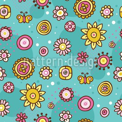 Spring Joy Repeating Pattern