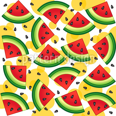 Leckere Wassermelone Musterdesign