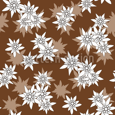 Edelweiss Brown Vector Design