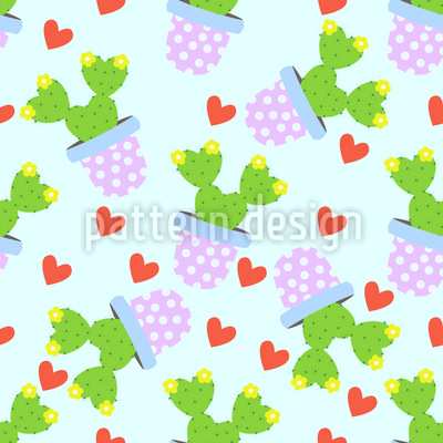 Cute Cacti Vector Design