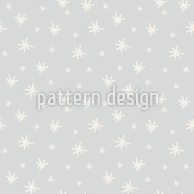 Weiße Winterdecke Musterdesign